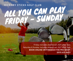 Hickory Sticks AYCP Special